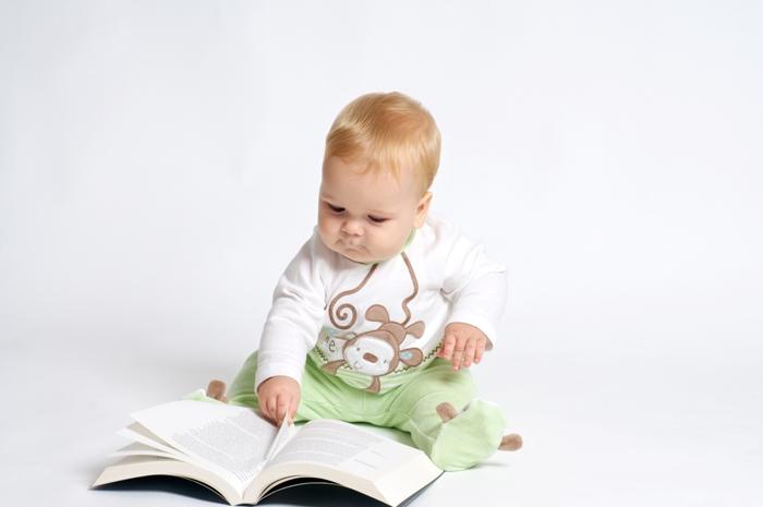знакомство с книгой в раннем возрасте